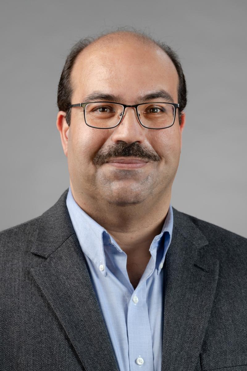 Portrait of Mootacem Mhiri
