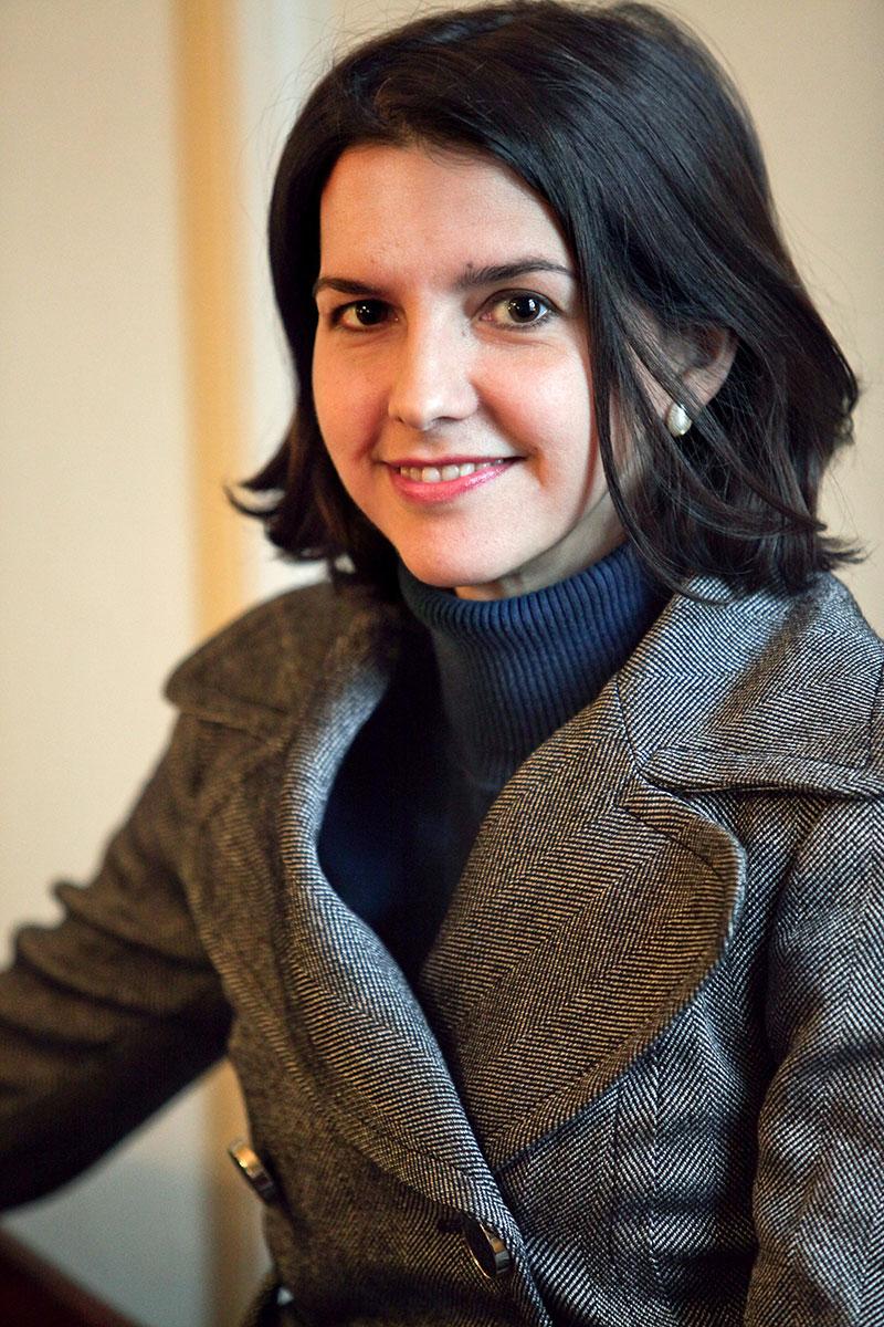 Portrait of Eva Woods Peiró