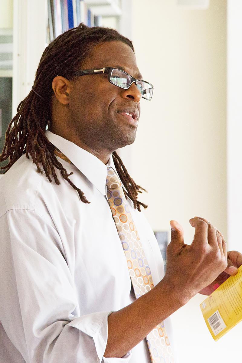 Portrait of Tyrone Simpson, II