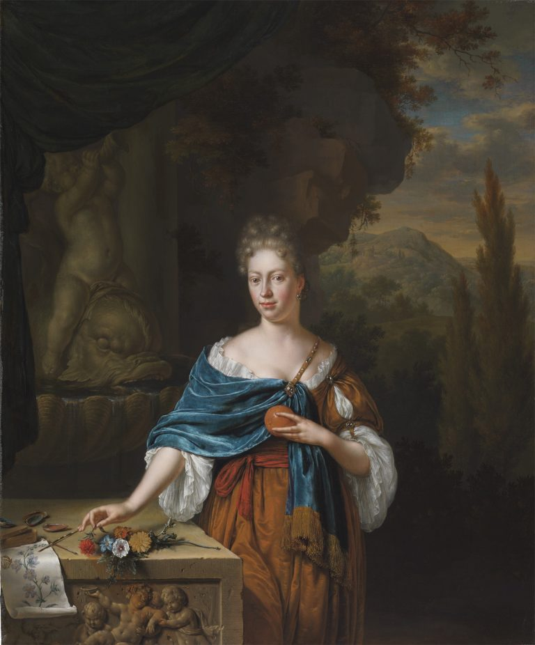 Portrait of Dina Margareta de Bye, 1705