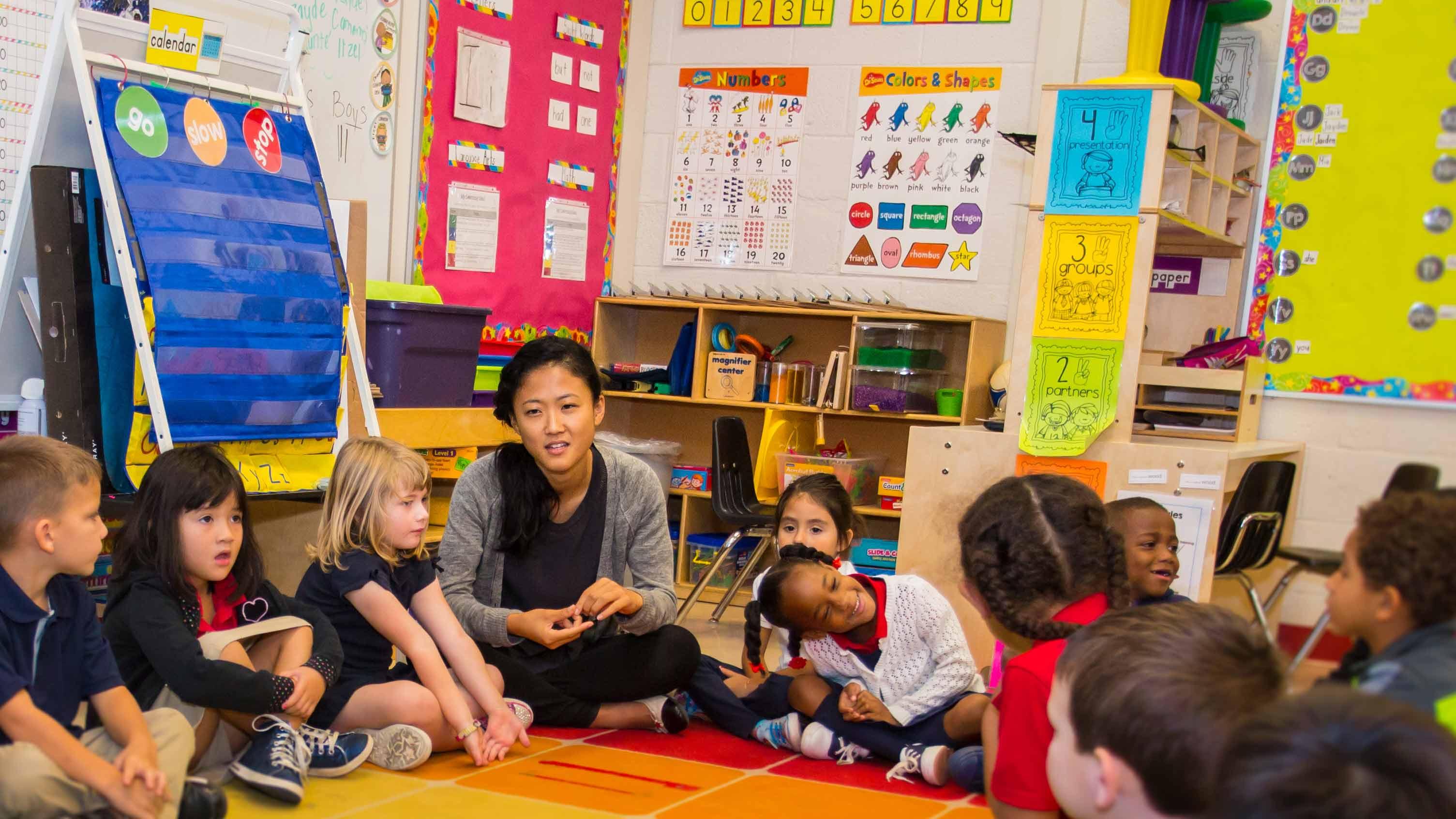One Year Out Eunice Roh 15 Kindergarten Teacher