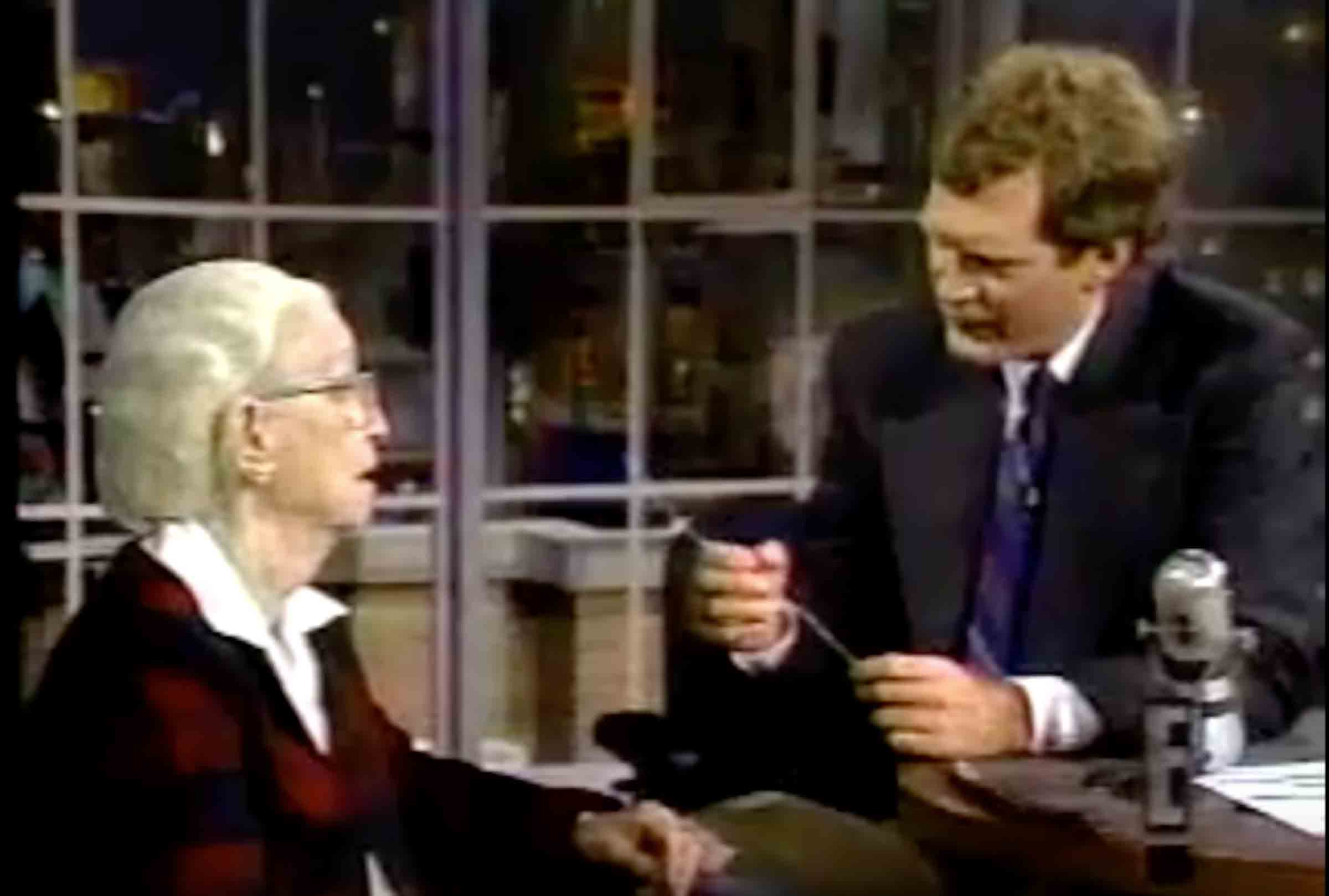 Check out Hoppers 1986 interview on the The Late Show with David Letterman!