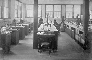Ellen Swallow Richards's lab at MIT