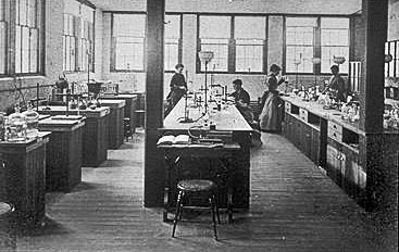 Ellen Swallow Richards's laboratory at MIT