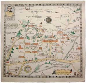 Treasured Maps Vassar The Alumnae I Quarterly