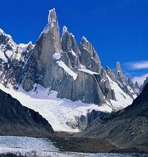 photo of snowy mountain peak
