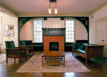 The Arts and Crafts style of the Office of Admission