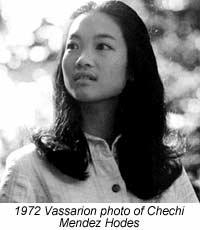 1972 Vassarion photo of Chechi Mendez Hodes