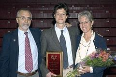 Senior Male Athlete of the Year Avi Kramer (cross-country)
