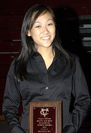 Betty Richey Award recipient Bernie Wu �07 (field hockey)