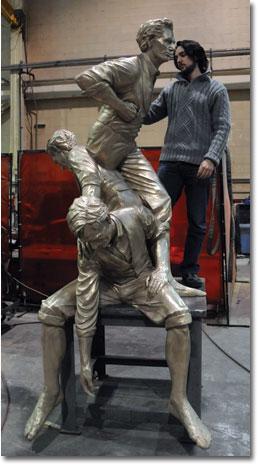 David Ostro sculpture