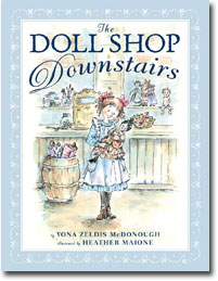 Doll Shop children's book cover