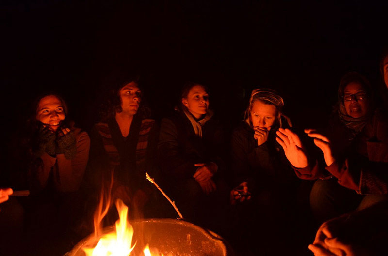 Camping out at the No More Deaths camp in Arivaca, Arizona
