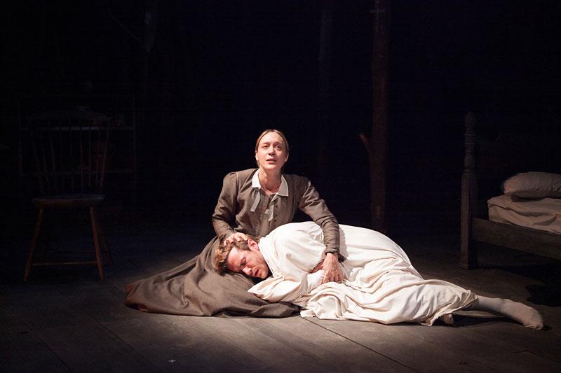 Chloe Sevigny and Patrick Heusinger in Abigail/1702