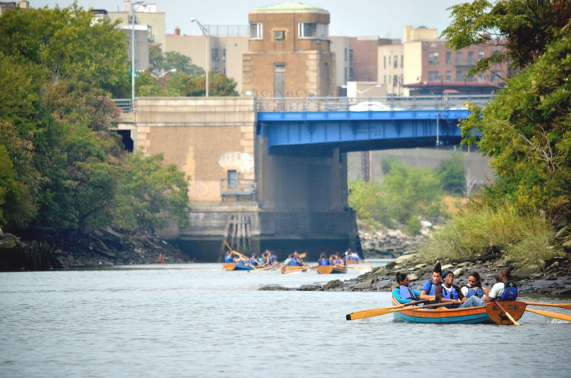Rocking the Boat started on a polluted parcel of the Bronx riverfront; it's now a cleaner, green waterway.