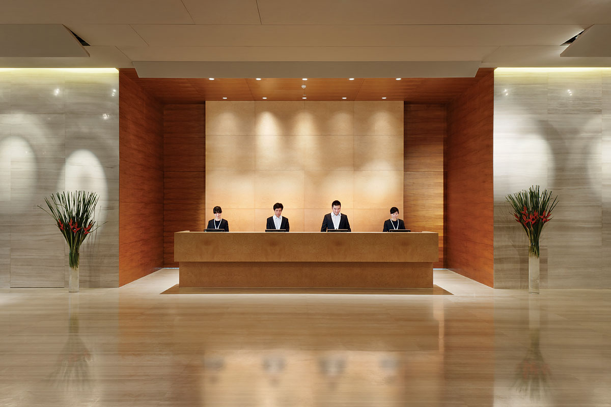 Hotel Lobby Front Desk - Picture of Grand View Hotel, Hong ... |Hotel Front Office Lobby