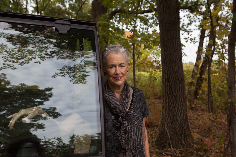 Purcell Scheu Palmer '62 founded the Catwalk Residency Program with her husband, Jim.