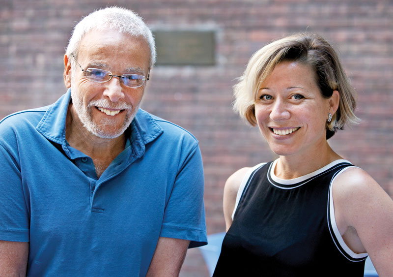 ET faculty members Sidney Plotkin and Yolanda Martin '05