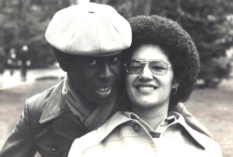 Grisela Alejandro Jackson '77 and Robert Jackson '77